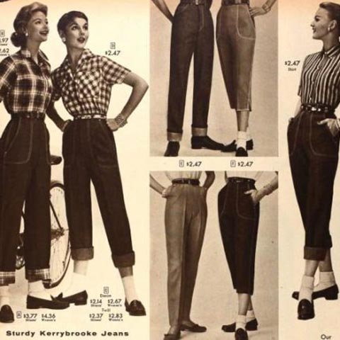 histoire du jeans